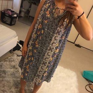 LOFT petite small floral dress